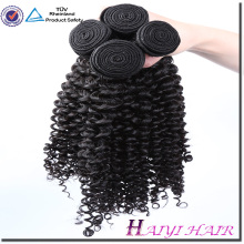 Brazilian Kinky Curly Hair Weaves Italian Weave Human Hair