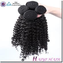 Бразильский Странный Вьющиеся Волосы Ткет Итальянский Человеческих Волос Weave