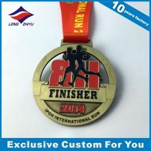 Round Running Custom Medal High Quality Metall Medaillen für Auszeichnung