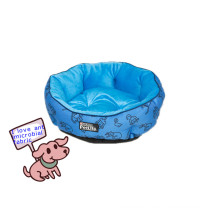 Comfortable Pet Bed with Antimicrobial Fabric Material