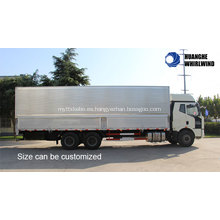 Color Opcional Land Tranport Wing Opening Truck