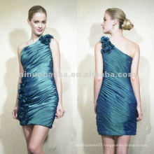 NY-1977 Taffeta short sheath silhouette gown mother dress