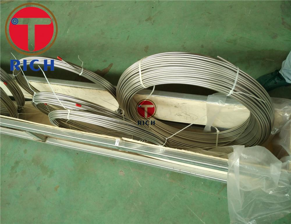 Seamless Heat Exchanger 304 Stainless Steel Coil Tube