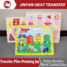 colorful printed film heat transfer for wooden products