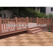 WPC DIY decking piso / wpc bricolaje pisos / wpc decking