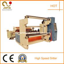 Machine de fente de papier de cannelure à grande vitesse
