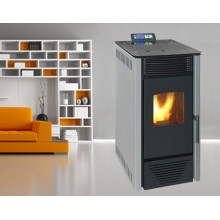 8kw, Auto Feeding, Auto Ignite, Indoor Using Wood Pellet Stove (NB-PI) Grey