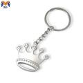 Princesa de metal personalizado chaveiro coroa
