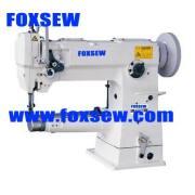 Máquina de coser cilindro cama al unísono alimentación resistente