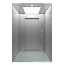 Линейные пассажирские пассажирские лифты из нержавеющей стали