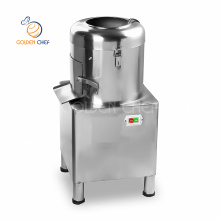 Commercial Automatic Electric Water Powered Potato Peeler And Slicer Machine