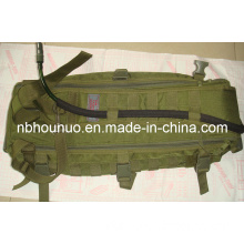 High Quality Nylon Cordura Green Sling Bag, Military Backpack for Camping