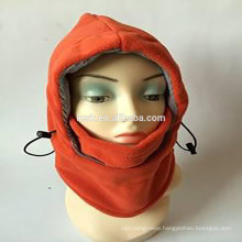 6in1 Fleece winter knit hats and caps ski face mask balaclava