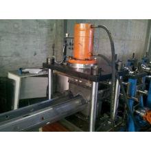 Galvanizado W-Beam Guardrails Roll formando fabricante de máquina para Arábia Saudita