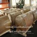 Superficie de acabado del molino 1100 H24 fabricante de bobina de aluminio
