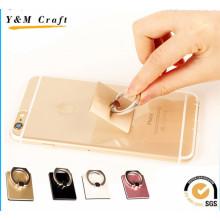 Support universel d'anneau de doigt de Smartphone en métal de 360 degrés pour le téléphone portable