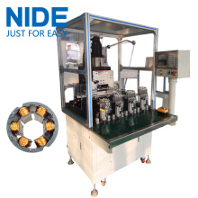 Full automatic inslot needle coil winder BLDC stator winding machine