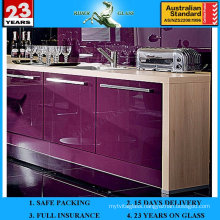 3-6mm Purple Spandrel Painted Lacquered Ceramic Glass