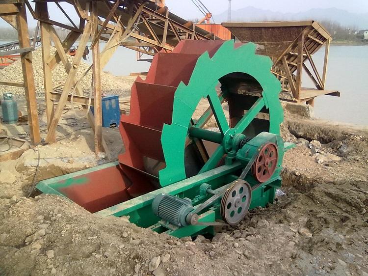 Small Sand Washing Machine