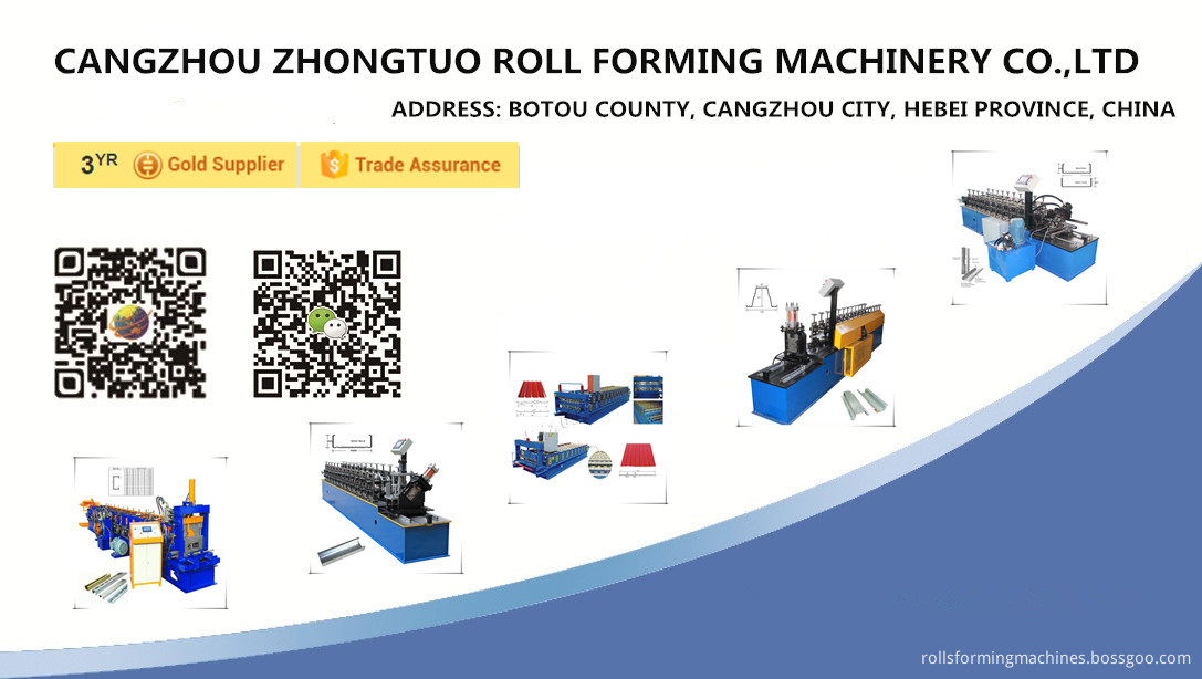 Ceiling system roll forming machine 8