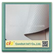 encerado del PVC/pvc claro de malla de lona/pvc lona transparente