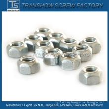 M6*1 DIN980V Type Prevailing Torque Hex Nuts