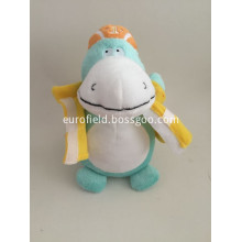 Soft Crocodile Toy Wearing Cloths