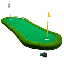 Alfombrilla verde para golf de bricolaje con base gruesa