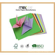 105 * 105 milímetros de papel de artesanato misturado de várias cores