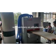 Máquina de lixar de placa de madeira de madeira plástica