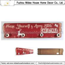 Europäischer handgemachter Weihnachtsmauerhaken