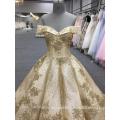 HA749B Baiyi Hochzeitskleid 2018 Luxus Ballkleid Brautkleider aus Schulter