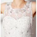 2016 nueva moda largo tren fuera del hombro ver a través princesa galina al por mayor vestido de novia