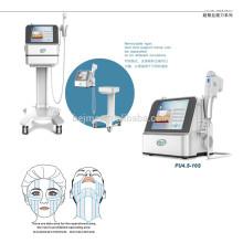 Machine d'ascenseur de visage d'ultrason de forte intensité de Hifu (FU4.5-10S)