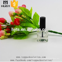 10ml пустые квадратные стеклянные бутылки лак для ногтей