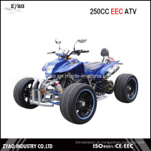 250cc CEE Racing ATV com 14 polegadas de liga de liga leve de roda legal na estrada