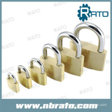 RP-102 40mm tri-circle solid brass padlock