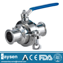 Sanitary Non-retention ball valve