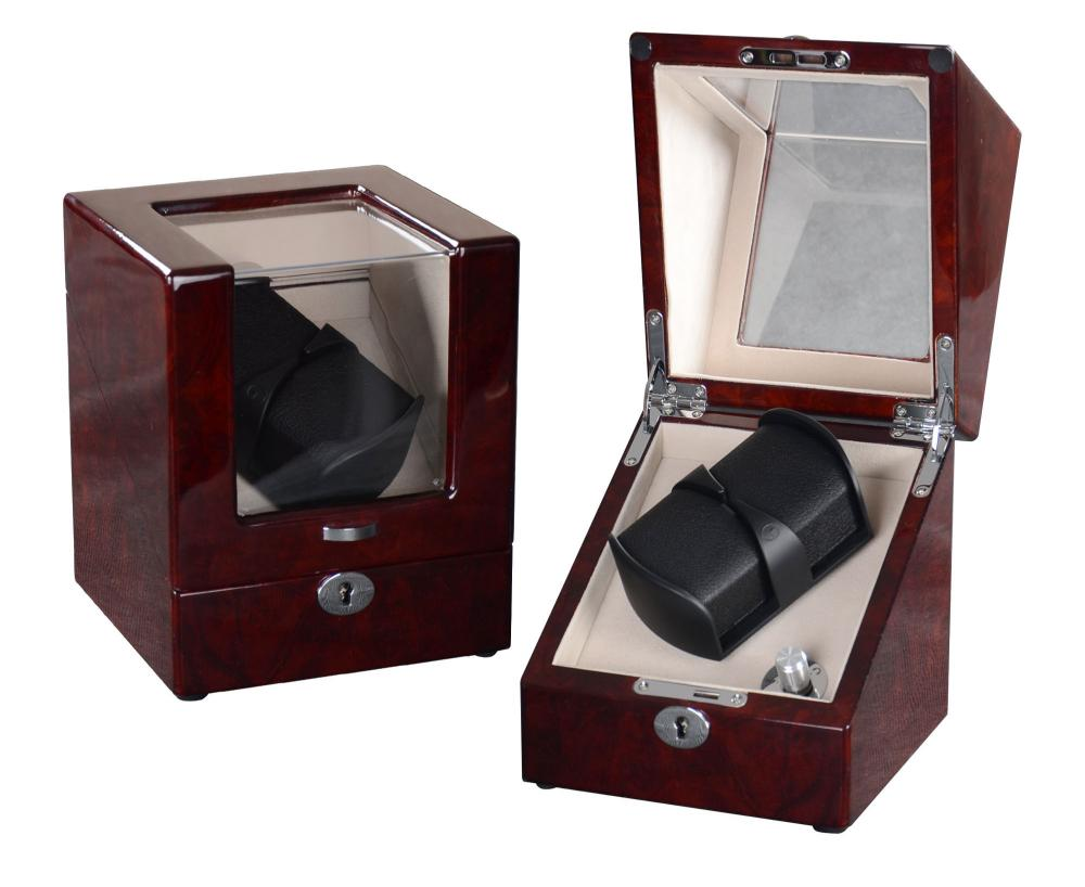 Ww 8116 Burl Wood Single Rotor Watch Winder