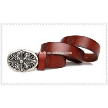 Nouvelle ceinture design en cuir pour hommes