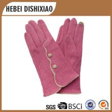 2016 новый продукт 100% кашемир сенсорный экран перчатки женщин кашемира сенсорный экран перчатки