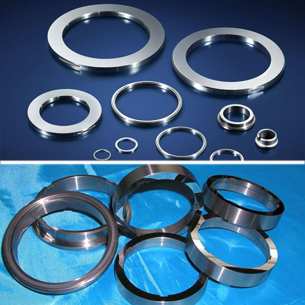 Oil refineries seal rings