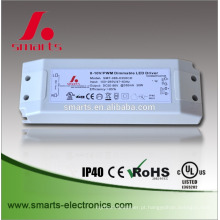 6w 11w 17.5w 30w pwm conduziu o motorista conduzido atual constante do downlight do motorista 350ma