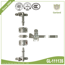 SUS Coal-Scuttle Lockable Door Latch Gear