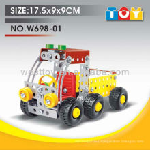 Hot sell new product DIY pump truck metal toy