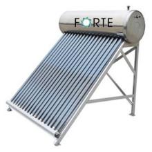 Gute kompakte Heatpipe-Vakuumröhre unter Druck Solarwarmwasserbereiter