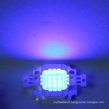 Perle menée bleue de la puissance élevée LED de la puce 9-12v 10w intégrée