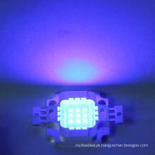 Grânulo integrado conduzido azul do diodo emissor de luz do poder superior da microplaqueta 9-12v 10w