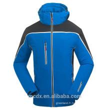 Hommes Vêtements de sport d'hiver Veste à neige Imperméable à l'épreuve des imperfections Manteaux chauds veste softshell
