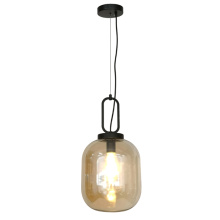 Suspension LED en verre moderne nordique